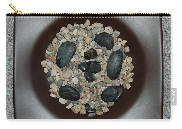 Bowl With Rocks Carry-all Pouch
