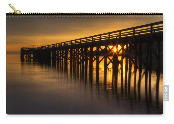Bowman Bay Pier Sunset Carry-all Pouch