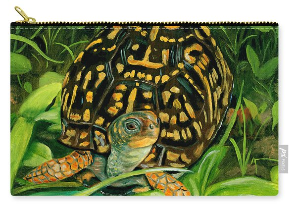 Box Turtle Carry-all Pouch