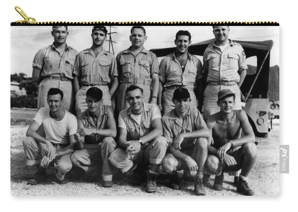 Boxcar Crew, Nagasaki Mission, 1945 Carry-all Pouch