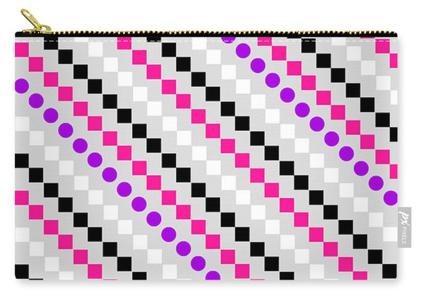 Boxed Stripe Carry-all Pouch