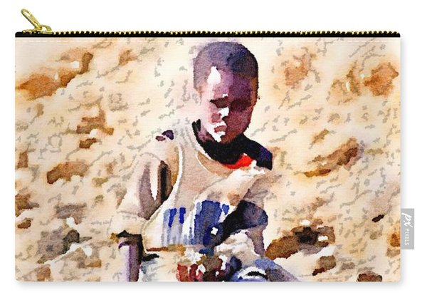 Boy In The Boat Carry-all Pouch