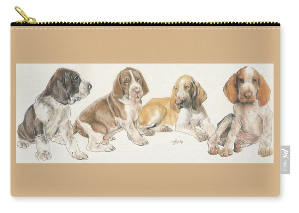 Bracco Italiano Puppies Carry-all Pouch