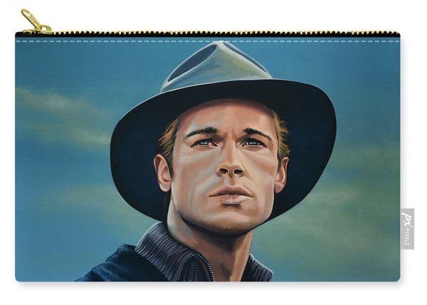 Brad Pitt Painting Carry-all Pouch