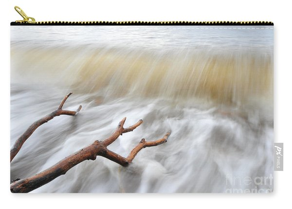 Branches In Water Carry-all Pouch