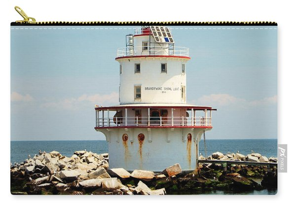Brandywine Shoal  Lighthouse Carry-all Pouch