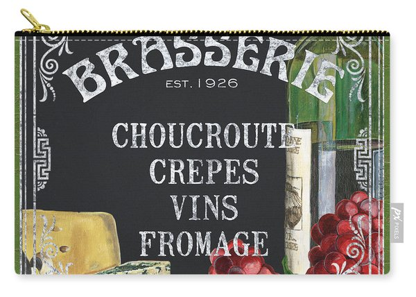 Brasserie Paris Carry-all Pouch