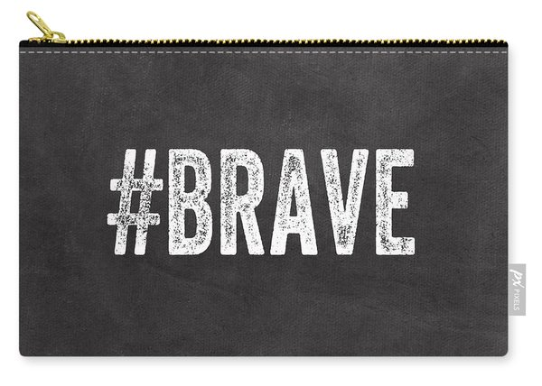 Brave Card- Greeting Card Carry-all Pouch