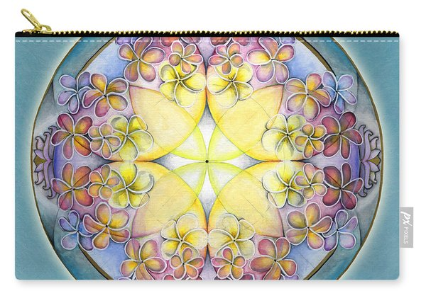 Breath Of Life Mandala Carry-all Pouch