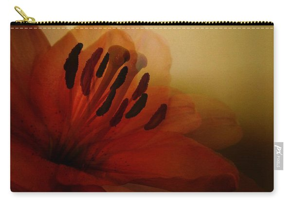 Breath Of The Lily Carry-all Pouch