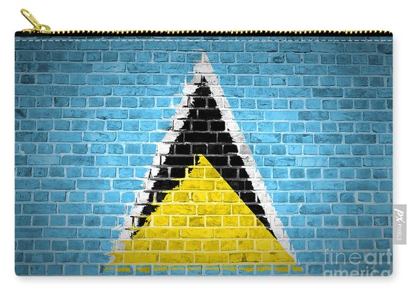Brick Wall Saint Lucia Carry-all Pouch