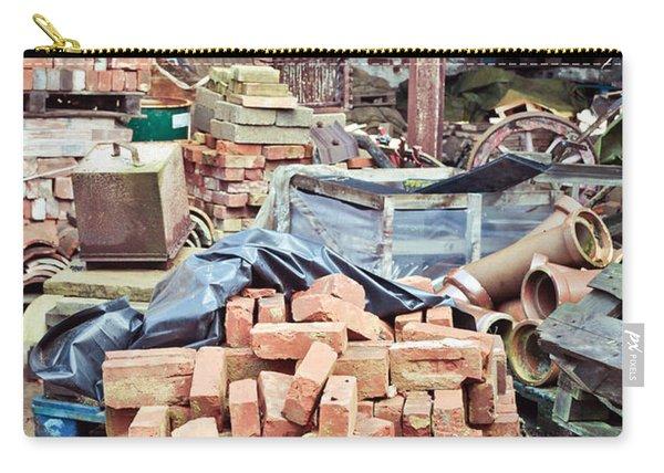 Bricks In Scrap Yard Carry-all Pouch