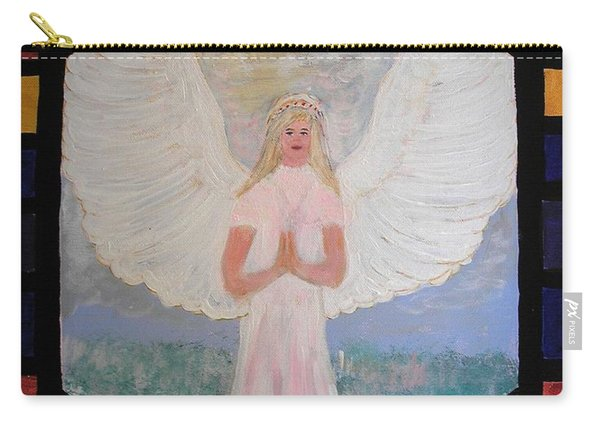 Angel In Prayer  Carry-all Pouch
