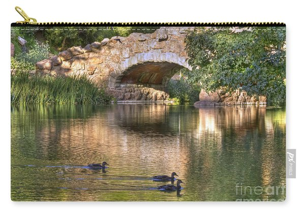 Bridge At Stow Lake Carry-all Pouch