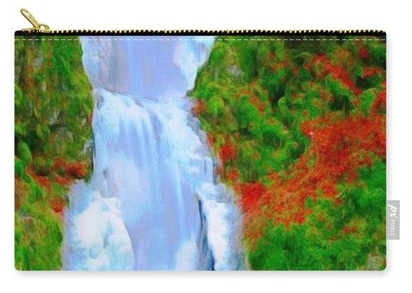 Bridge Over Beautiful Water Carry-all Pouch