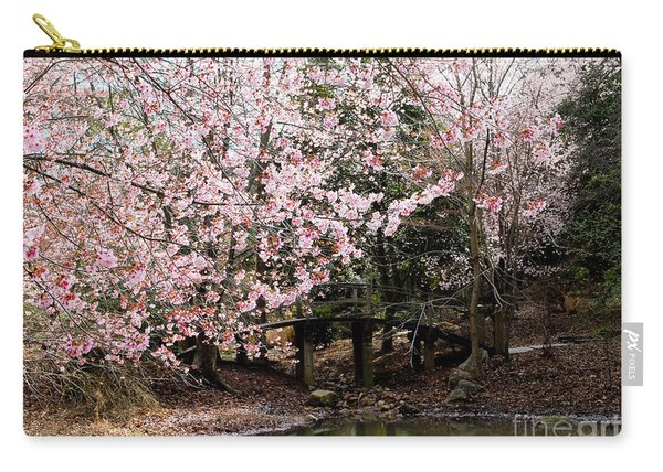 Bridge Over Pond 2 Carry-all Pouch
