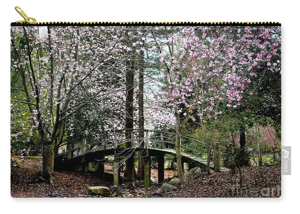 Bridge Over Pond Carry-all Pouch