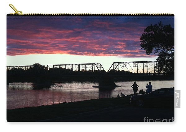 Bridge Sunset In June Carry-all Pouch