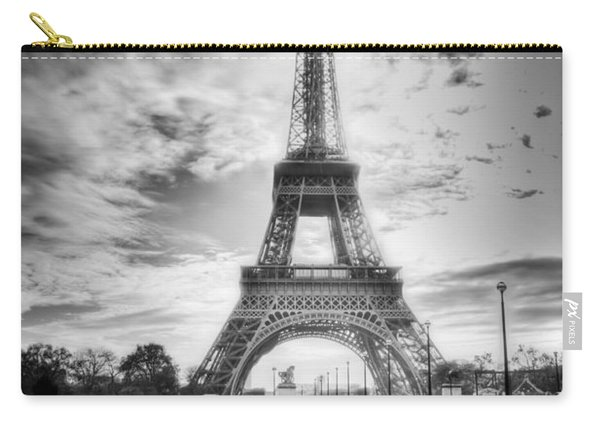 Bridge To The Eiffel Tower Carry-all Pouch