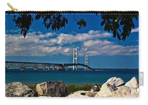 Bridge To The U.p. Carry-all Pouch