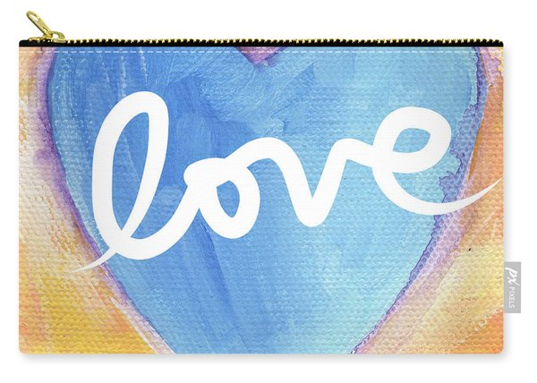 Bright Love Carry-all Pouch