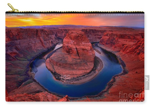 Bright Skies Over Horseshoe Carry-all Pouch