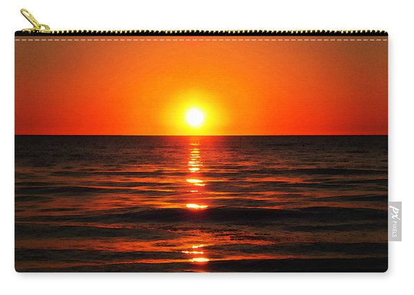 Bright Skies - Sunset Art By Sharon Cummings Carry-all Pouch