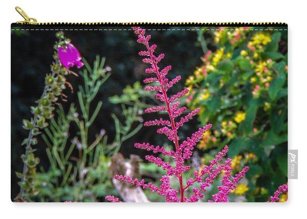 Brilliant Astilbe In Markree Castle Gardens Carry-all Pouch