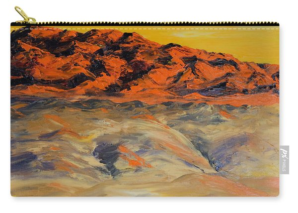 Brilliant Montana Mountains And Foothills Carry-all Pouch