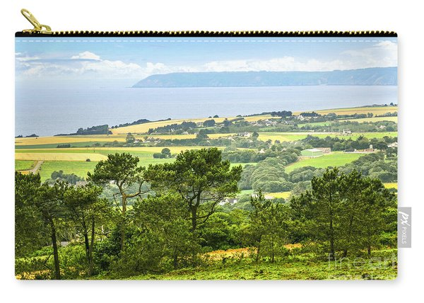 Brittany Landscape With Ocean View Carry-all Pouch