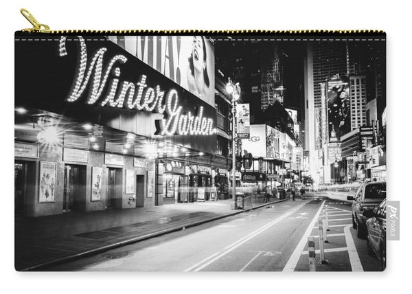 Broadway Theater - Night - New York City Carry-all Pouch