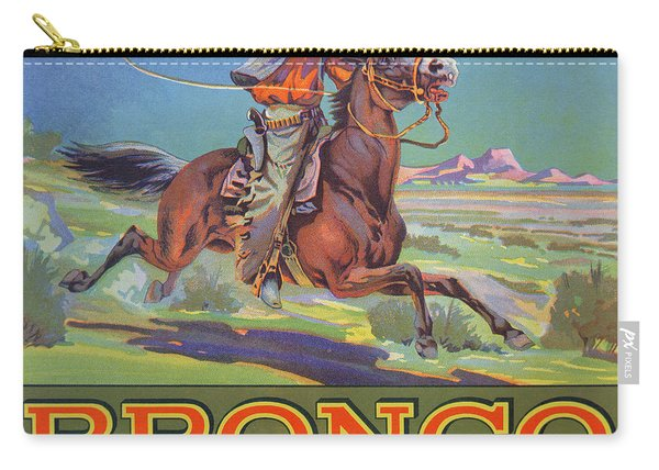 Bronco Oranges Carry-all Pouch