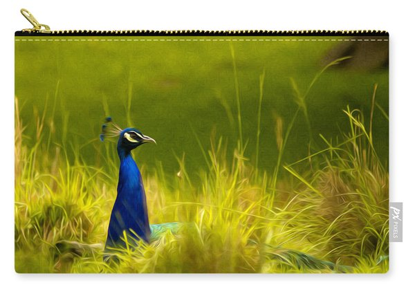 Bronx Zoo Peacock Carry-all Pouch