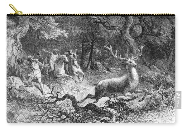 Bronze Age, Hunting Scene Carry-all Pouch