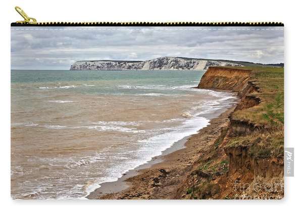 Brook Bay And Chalk Cliffs Carry-all Pouch