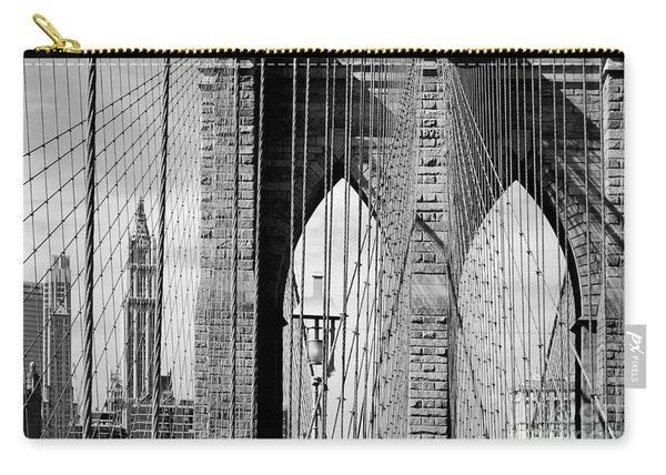 Brooklyn Bridge New York City Usa Carry-all Pouch