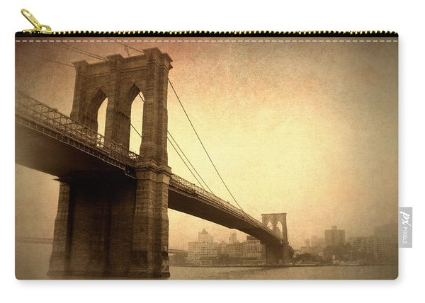 Brooklyn Bridge Nostalgia II Carry-all Pouch