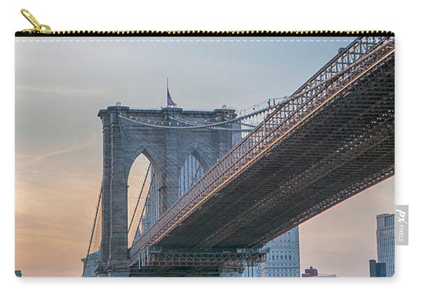 Brooklyn Bridge Sunset Carry-all Pouch