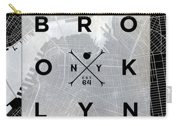 Brooklyn Square Bw Carry-all Pouch
