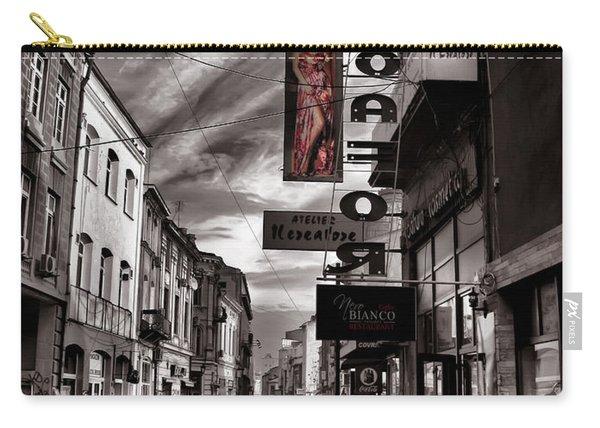 Bucharest Street Carry-all Pouch