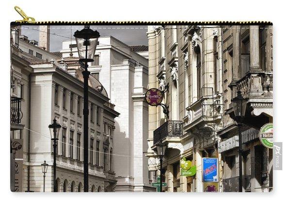 Bucharest The Little Paris Carry-all Pouch