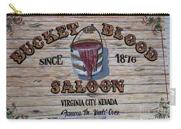Bucket Of Blood Saloon 1876 Canvas Print,photographic Print,art Print,framed Print,greeting Card, Carry-all Pouch