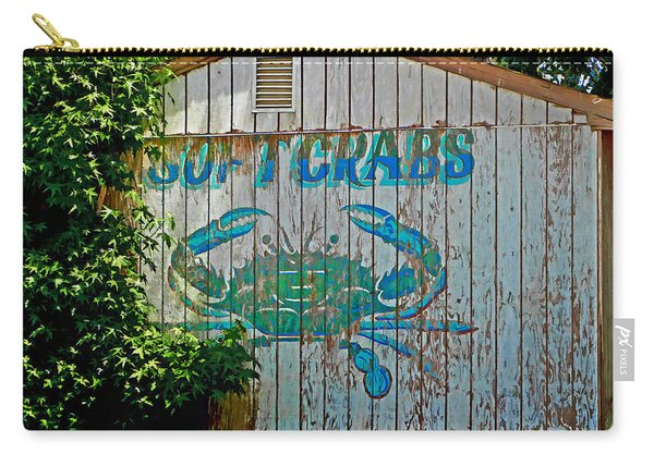 Buckroe Crab Shack Carry-all Pouch