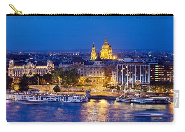 Budapest At Night Carry-all Pouch
