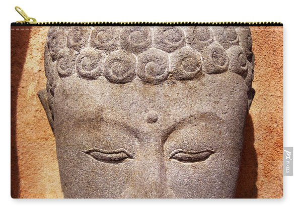 Buddha In Light And Shadow Carry-all Pouch