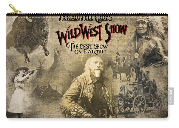 Buffalo Bill Wild West Show Carry-all Pouch