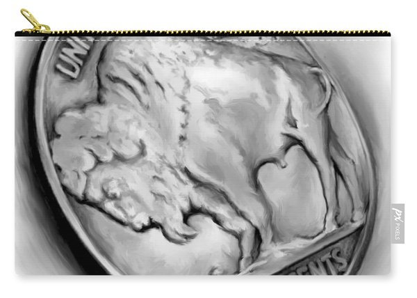 Buffalo Nickel 2 Carry-all Pouch
