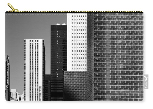Building Blocks Black White Carry-all Pouch