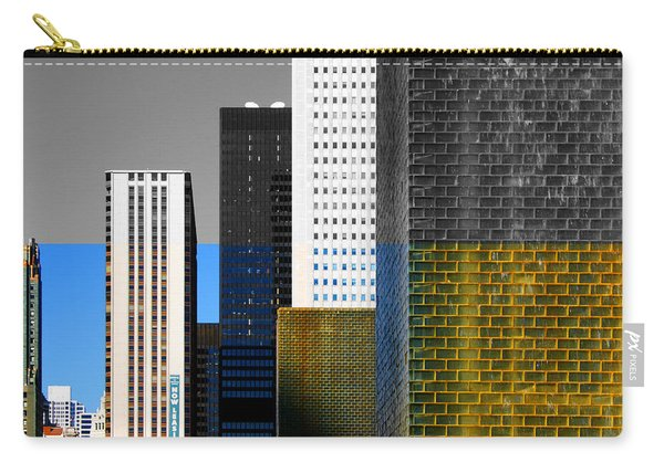Building Blocks Cityscape Carry-all Pouch