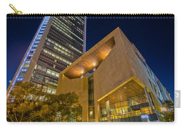 Buildings And Architecture Around Mint Museum In Charlotte North Carry-all Pouch